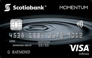 Scotiabank Scotia Momentum VISA Infinite Cash Back Card